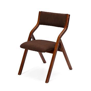 Sillas Plegables de Madera Maciza Mesas y sillas de ...