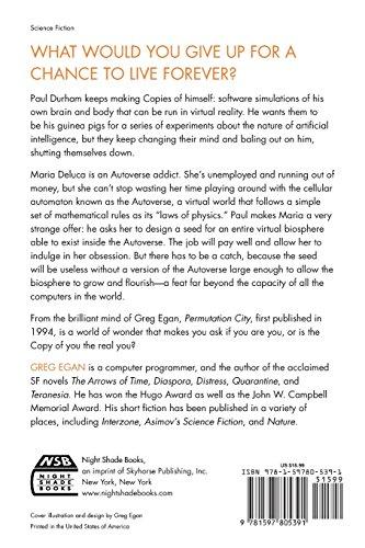 Permutation City: A Novel