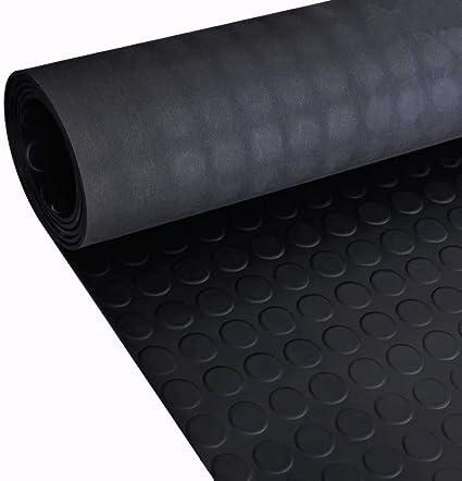 vidaXL Estera con Puntos Antideslizante de Caucho del Suelo 5 x 1 m