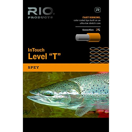 (RIO Products Fly Line Intouch T-14-30' SHD, Dark-Blue)