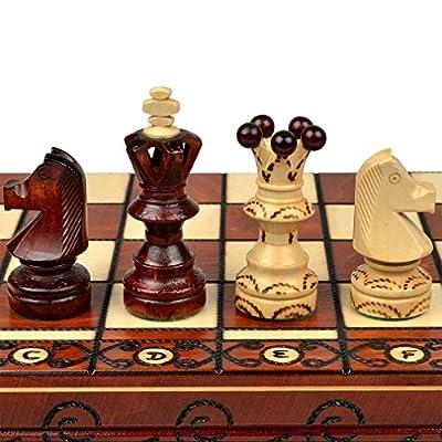 """Chess Set: Ambassador European International Chess Set - 20"""""""