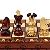 Chess Set: Ambassador European International Chess Set - 20''