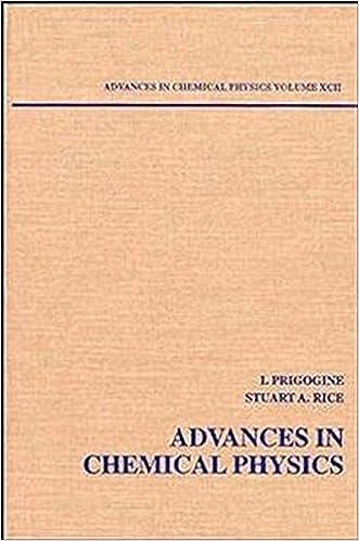 advances in chemical physics volume 13 rice stuart a prigogine ilya