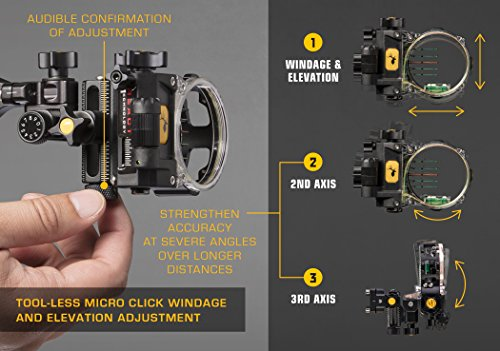 Trophy Ridge React Pro 5 Pin Bow Sight