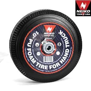 Hand Truck Dolly Tire Foam Wheel Never Run Flat No Air