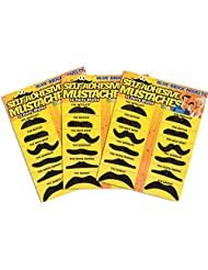 Blue Ridge Product Solutions Fake Mustache Novelty And Toy, Pack Of 36