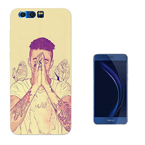 002946 - Sexy Man Boy Tattoos Arms Praying Model Gorillas Justin HUAWEI NOVA 2 Plus Fashion Trend CASE Gel Rubber Silicone All Edges Protection Case - Male Justin Model