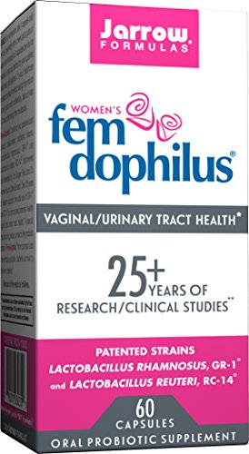 Jarrow Formulas Fem-Dophilus, Supports Vaginal and Urinary Tract Health, 60 Capsules
