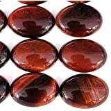 5pcs Stone Natural Real Gemstones Oval 22*30mm Cabochons for Jewelry Making Beads Cabs (red tiger's eye) promo code 2017
