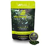 Cheap RECOVERYbits Chlorella Algae Tablets Organically Grown, Cracked Cell Wall, Non-GMO, vegan, paleo, ketogenic, raw. 100% pure green Chlorella Pyrenoidosa, a plant-based, Bag of 1,000 tabs