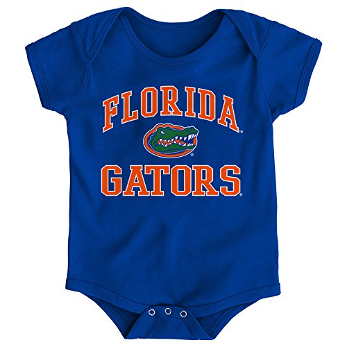 NCAA Florida Gators Newborn & Infant Primary Logo Bodysuit, 12 Months, Royal