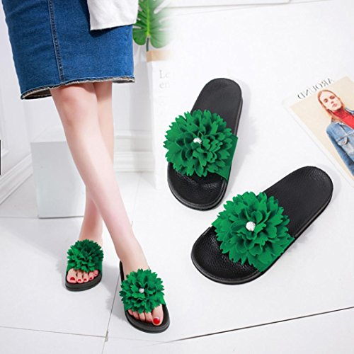 3e19ee690633 DENER Women Girls Ladies Summer Flat Slippers Moccasins