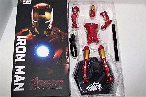 Stan Lee Signed Iron Man Crazy Toys Figure NIB ...PSA/DNA (Nib Signed)