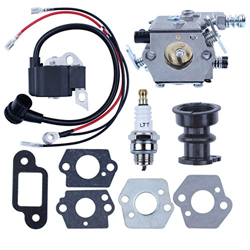 (Haishine Carburetor Ignition Coil Module Gasket Spark Plug for STIHL MS250 MS230 MS210 021 023 025 Chainsaw Walbro Carb)