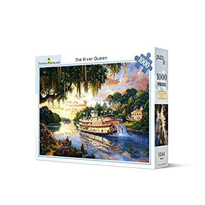 [ Puzzle life ] River Queen | 1000 Piece Jigsaw Puzzle: Toys & Games