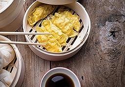 Helen Chen\'s Asian Kitchen Bamboo Steamer, 10-Inch