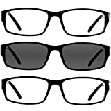 Reading Glasses 1.50 2 Black 1 Black Sun