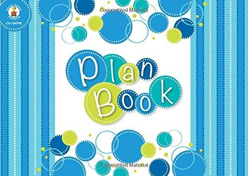 Bubbly Blues Plan Book -