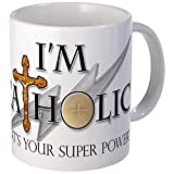 CafePress - Catholic Mug - Unique Coffee Mug, Coffee Cup