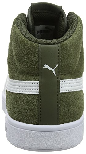 Hautes 03 Mixte V2 Night Puma Vert Mid White Smash Adulte Sd Baskets puma forest w6WXRgq