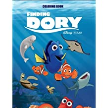 Finding Dory Coloring Book for Kids and Adults (Disney/Pixar)