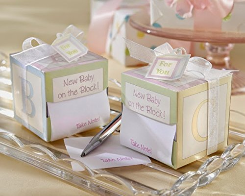 """60 """"Take Note! New Baby On the Block!"""" Sticky Notes"""