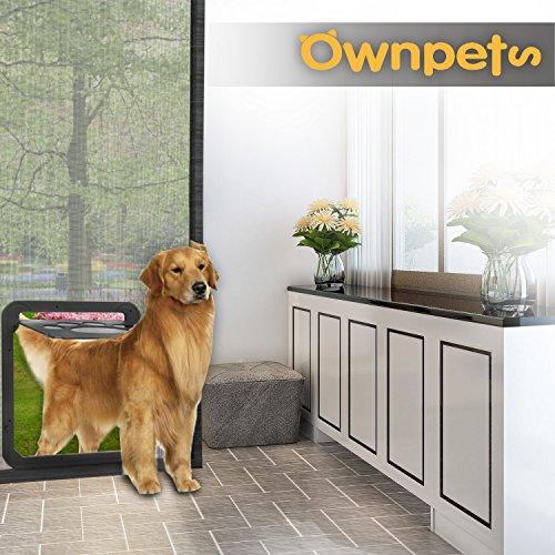 OWNPETS Dog Screen Door, Lockable Pet Screen Door, Magnetic Self-Closing Screen Door with Locking Function, Sturdy Screen Door for Dog Cat by OWNPETS (Image #9)
