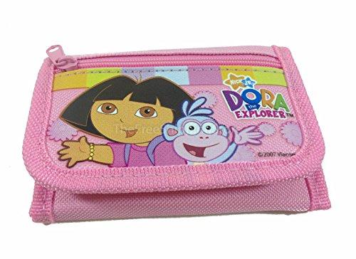 Dora the Explorer Light Pink Tri-fold Wallet
