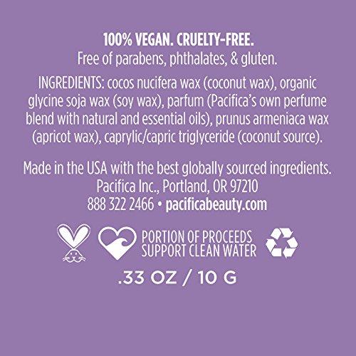 Pacifica French Lilac Perfume sólido con aroma a lila,10 g: Amazon.es: Belleza