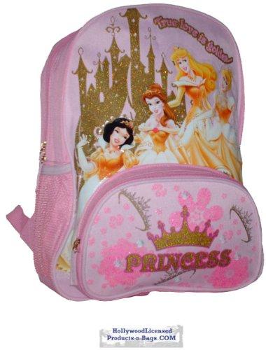 Princess in Gold n Pink Large Backpack (Backpack Beauty Sleeping)