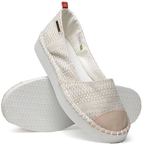 41392910427 UP Chaussures Femme ORIGINE HAVAIANAS Beige Espadrilles Flatform wqfxAO