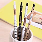 Katoot@ 12pcs/lot Cute Korean Mechanical Pencils Novelty Dot Tower 0.5mm Automatic Pencil escolar Office school supplies canetas Zakka