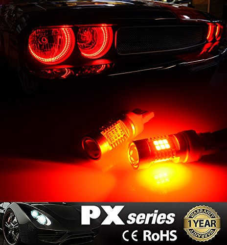 JDM-ASTAR-Extremely-Bright-PX-Chips-7440-7441-7443-7444-Red-Brake-LED-Bulb