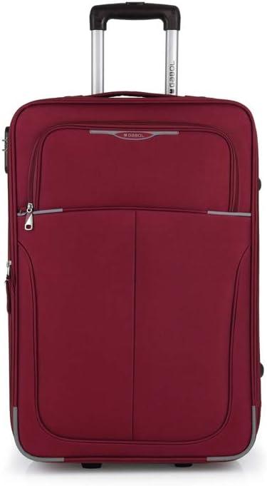 Gabol 113346008 - Trolley mediano con 2 ruedas, 44 x 66 x 27 cm, 63 L, color rojo