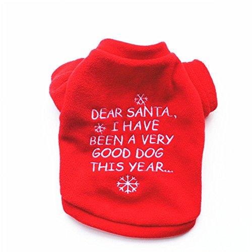 Felpa Cucciolo Natale L Invernali Vestito 11 Maglione Gilet amp; Lettere 8 Xs Vestiti Fiocco Neve Felpe Au Da Cane Di Ponticelli Padre Maglia W0qFq6BgIx