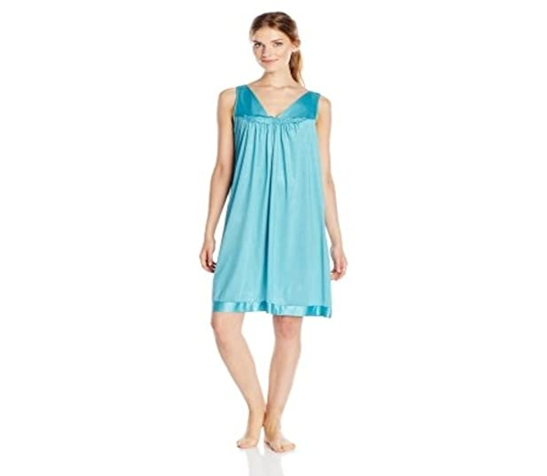Vanity Fair Women\'s Plus-size Coloratura Sleepwear Short Gown (30807 ...