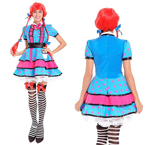Halloween Costumes Cute Halloween Costume Bar Workwear Maid Service, 10001, U -