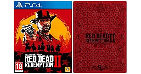 Red Dead Redemption 2 with Collectible SteelBook (Exclusive to ...