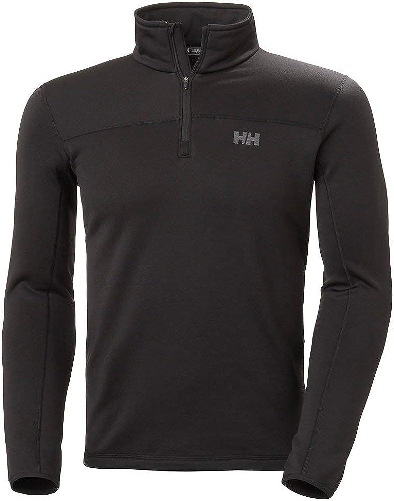 Helly-Hansen mens Power 4-way Stretch Phantom 1//2 Zip Midlayer Pullover