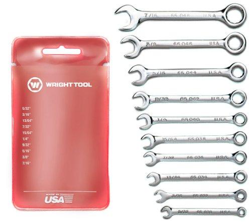 UPC 076799007872, Wright Tool 787 Miniature Combination Wrench Set (10-Piece)