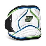 NP Surf 3D Pro Windsurf Easy Release Waist Harness, White/Green, Medium