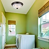 1257L-ORB-AL Flushmount Ceiling Light Oil Rubbed