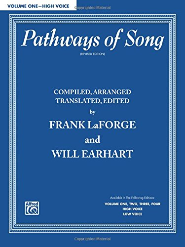 Pathways of Song, Vol 1: High Voice (Pathways of Song Series)