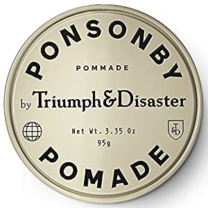 Triumph & Disaster Ponsonby Pomade 3.35oz – Medium Hold Non-Greasy High-Shine Petroleum-Free Hair Pomade with Nourishing Dragon?s Blood, Harakeke, and Argan Oil (Tamaño: 3.35 Ounce (Pack of 1))