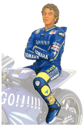 Minichamps 312049046 - Figurine Sitting - Valentino Rossi, Moto GP, Maßstab: 1:12