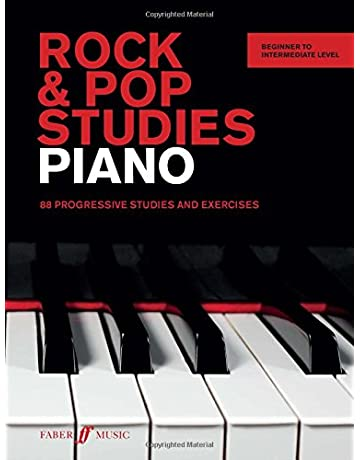Rock & Pop Studies: Piano: 88 Progressive Studies and Exercises