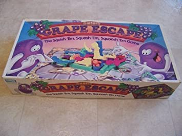 Grape Escape Board Game