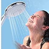 MOVEmen Shower Hand Shower Head Shower Artichoke Stylish and Multifunctional 4 Sprays Benchtop High Pressure Shower Faucet Tub Shower Kit Shower Water Filters Kitchen Bathroom Water Saver Water Spray
