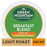 Green Mountain Coffee K-Cup Portion Pack for Keurig K-Cup Brewers, Breakfast Blend Decaf