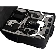 Professional backpack fits for Parrot Bebop 2 FPV-Version with Sky Controller 2 and googles made by MC-CASES - Excellent Cases - THE ORIGINAL (Parrot Bebop 2 FPV, colour black)